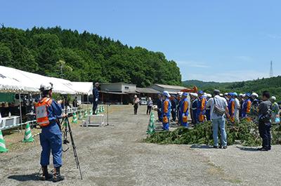 2017年6月2日KKS協定に基づく合同災害救助訓練の写真_開会式挨拶1