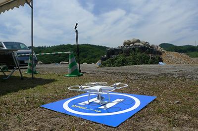 2017年6月2日KKS協定に基づく合同災害救助訓練の写真_ヘリパッド