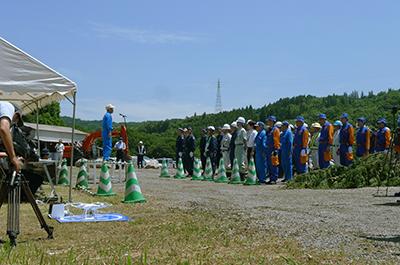 2017年6月2日KKS協定に基づく合同災害救助訓練の写真_開会式挨拶2