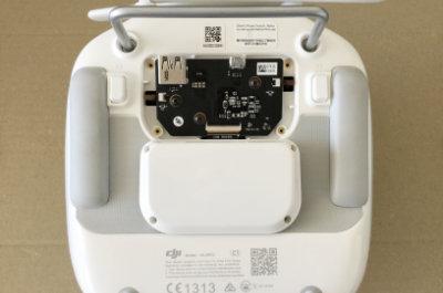 DJI製Phantom4のプロポにHDMI出力モジュール取り付け工程10