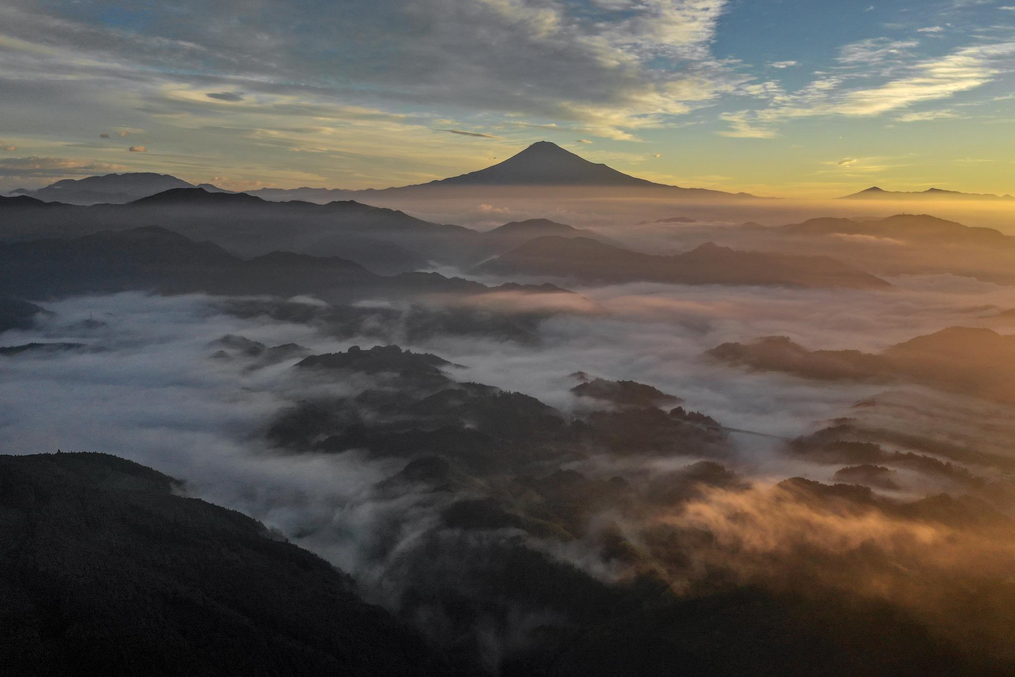 空撮・富士山眺望1