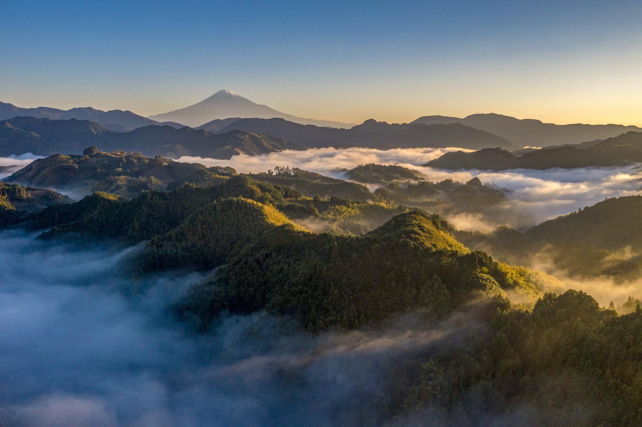 空撮・富士山眺望2
