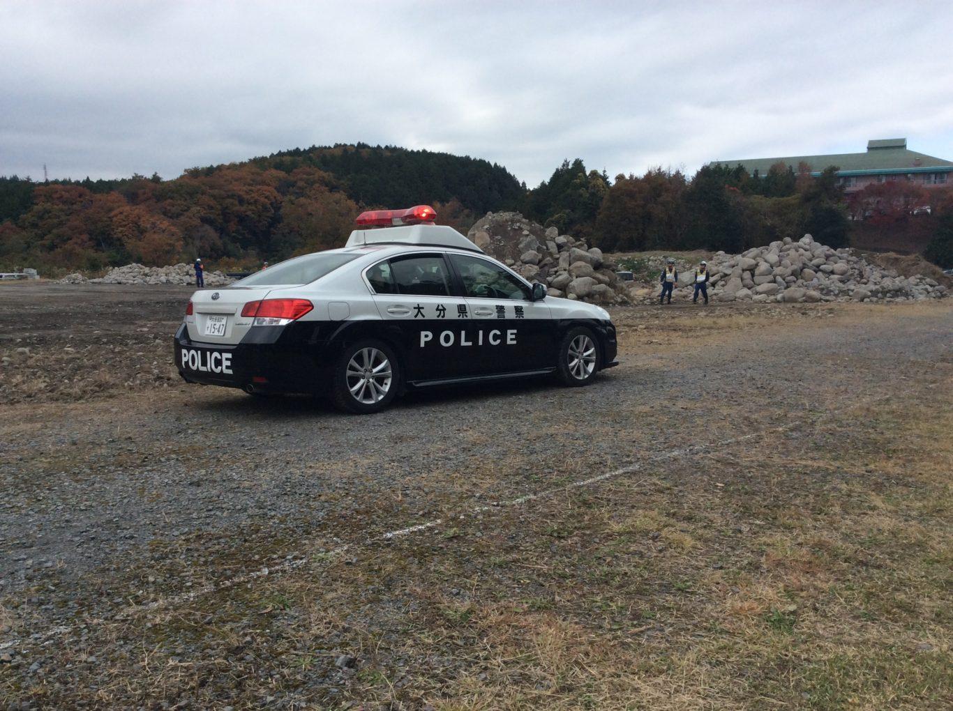 パトカー登場_防災訓練2019