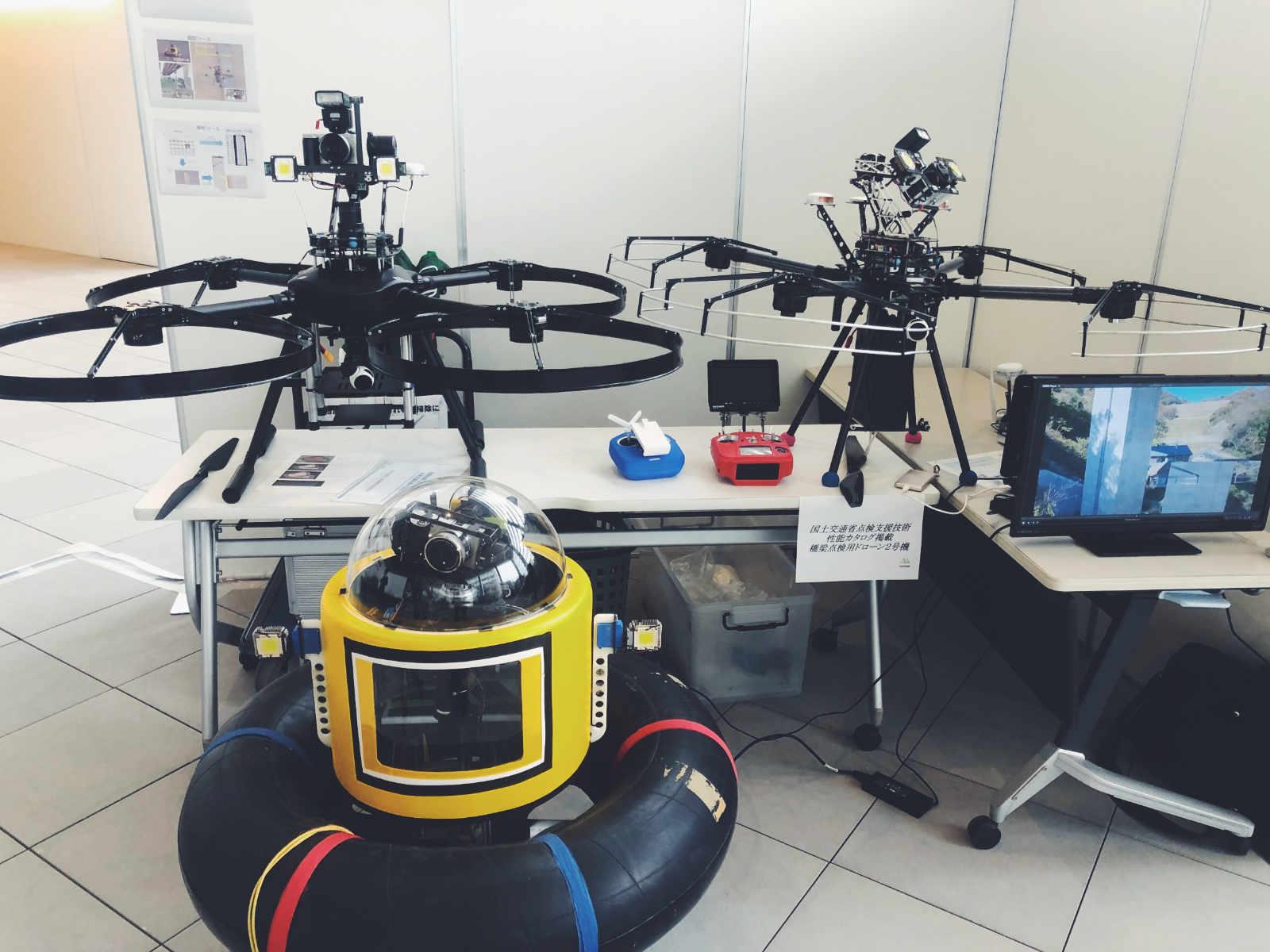 大分ドローンフェスタ2019(OITA DRONE FESTA 2019)夢想科学株式会社の展示会ブース