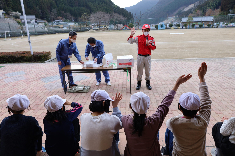 日本赤十字社による防災授業